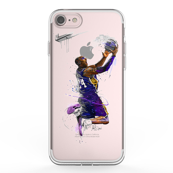 graphic regarding Printable Phone named Ikf Oem Video game Nba Basketball Kobe Bryant Tremendous Star Obvious Silicone Printable Cell phone Circumstance Again Include For Apple iphone 7 - Invest in Tailor made Nba Match Telephone Circumstance For