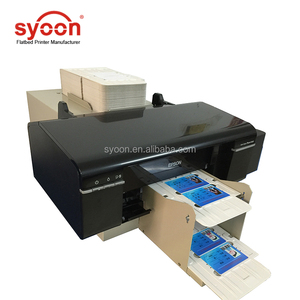 2018 innovation industrial Automatic inkjet digital Cd dvd pvc id card printers