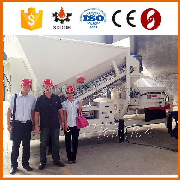 SDDOM MC series Engineering and construction equipment have CE ISO certified concrete mixing plant