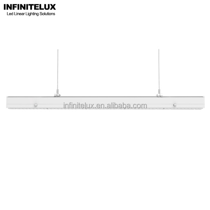 Continous Run 130LM/W,Asymmetric,2ft, GS TUV Basic-Linear Led Trunking Light System