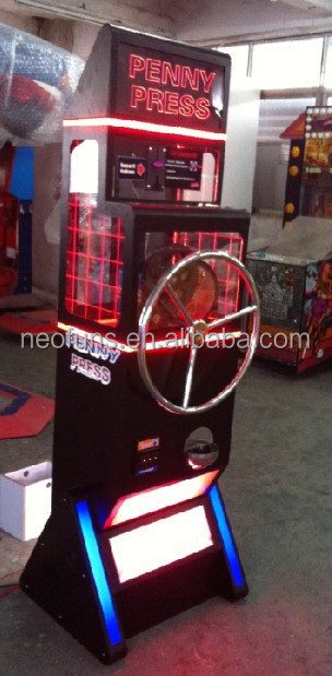 2015 popular penny press machine for sale/coin operated penny press