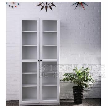 Steel Living Room Cabinet 4 Door Decorative Home Furniture Corner For