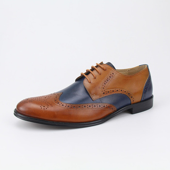 aa03dbb126b European style men oxfords casual shoes genuine leather YINZO men brogues