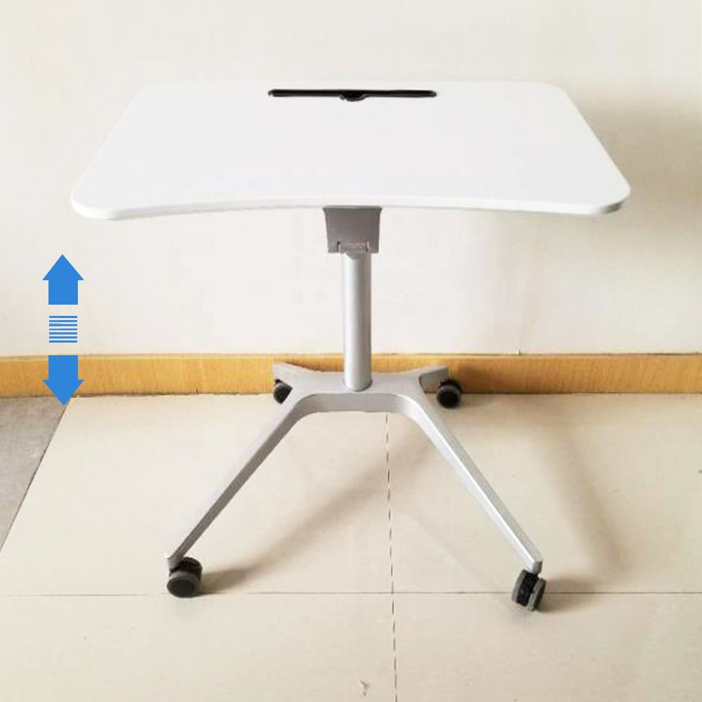 Made In China New Design Height Adjustable One Leg Gas Spring Lift Table -  Buy Gas Spring Table Lift,Gas Lift Table,Height Adjustable Table Product on