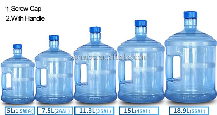 All kinds of five gallon 20l plastic barrel/5 gallon 18l plastic bucket