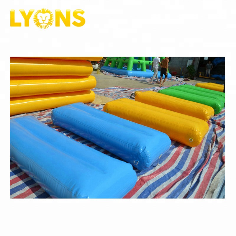 Walk On Inflatable Water Product Play Equipment For Water Park