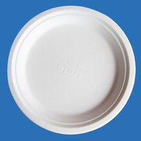 Disposable Bagasse Biodegradable 9 inch Round Plate