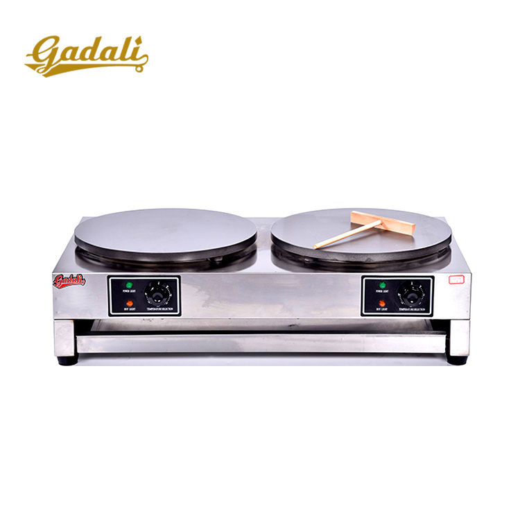 Double crepe machine,crepe maker for sell