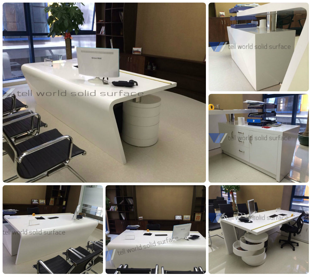 Oem Modern Office Table Design Office Furnniture Type White