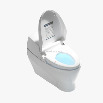 Gizo LZ-0702z sanitary ware for intelligent toilet with plastic seat