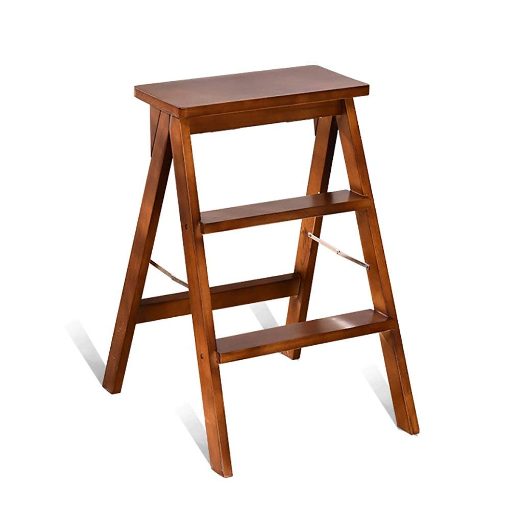 Buy Step Stools Wooden Dual Use Household Kitchen Climbing