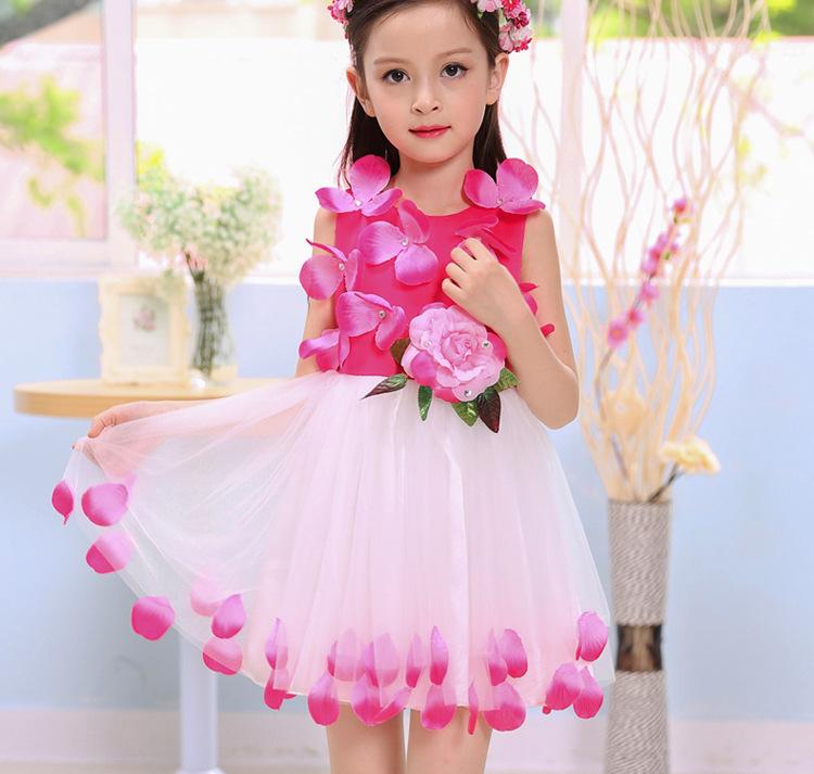 Venta al por mayor vestidos niña un año fiesta-Compre online los ...