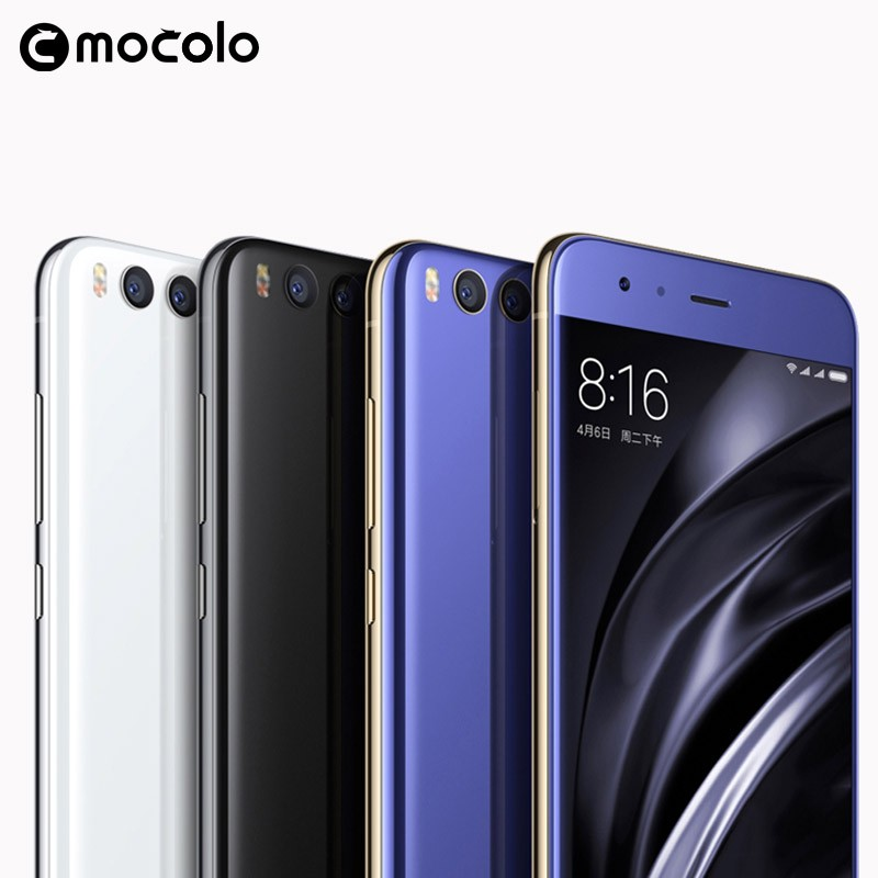 Mocolo Hot Sale Mobile Phone Accessories New Arrival 9H 0.33M Anti Shock Tempered Glass Screen Protector For Xiaomi Mi6