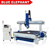 Blue elephant 3d sculpture machine 600mm z axis cnc router