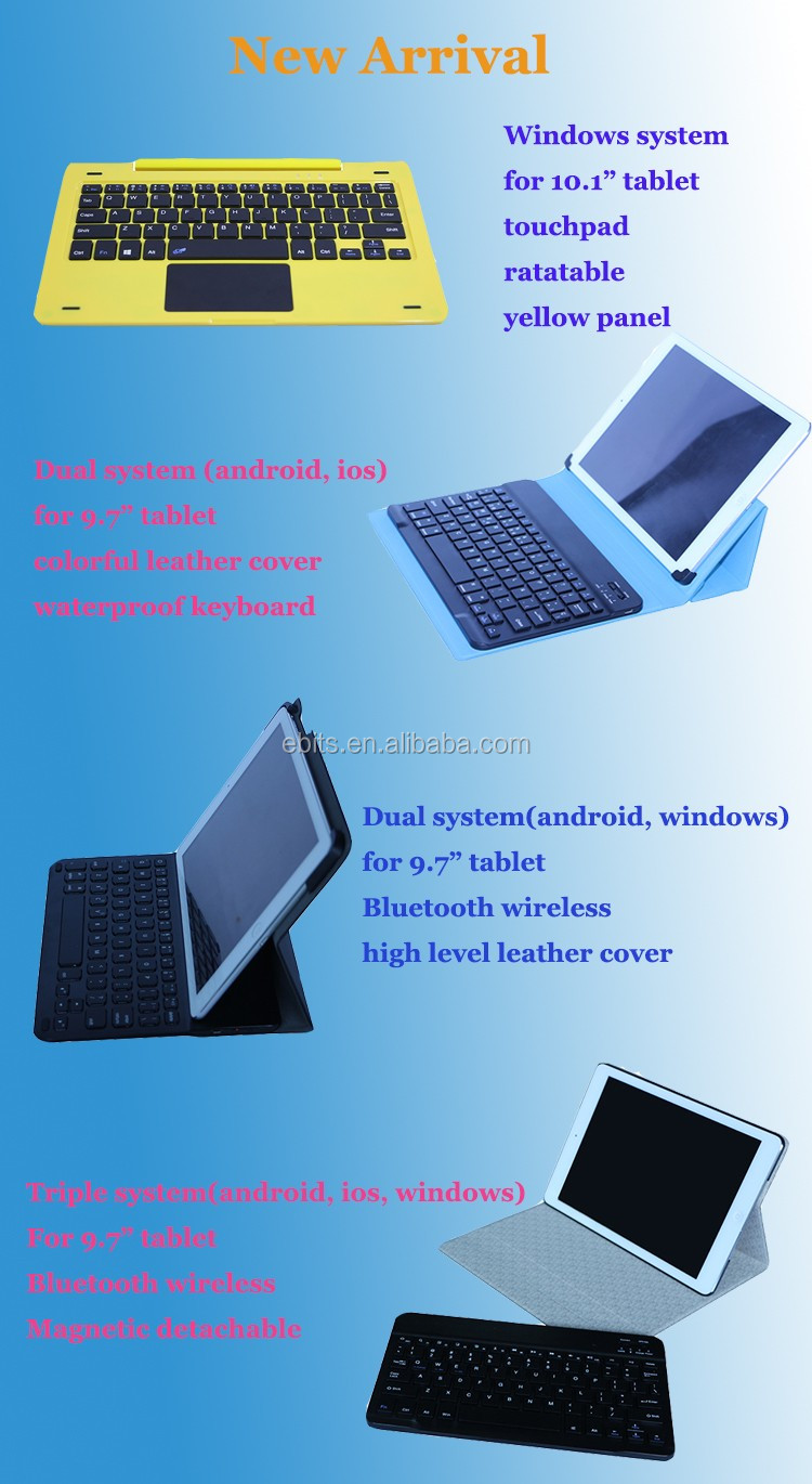 Freely Rotating Plastic Panel Ps/2 Wired Keyboard With Hinge