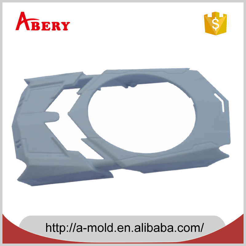 Shenzhen custom high close injection molding, car roof molding