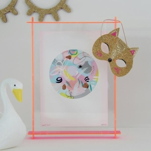 factory wholesale square acrylic shadow box photo frame