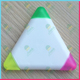 Triangle shape Fluorescent /Highlighter pen/marker