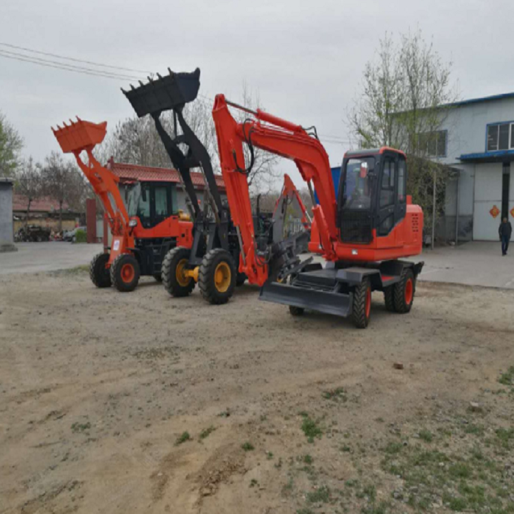 Factory direct new multi-functional agricultural backhoe loader