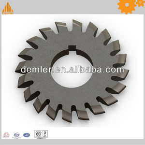 HSS spline gear milling cutter