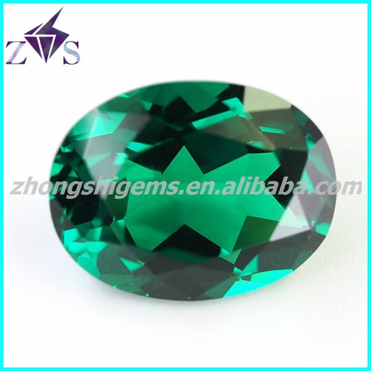 High Quality Oval Shape Green Spinel Gemstones - Buy High End Cz ...
