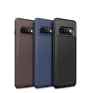 Heat dissipation Carbon Tpu Phone Case For Samsung Galaxy s10