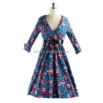 Party clothing vintage style women dresses pin up robe vetement 50s clothing