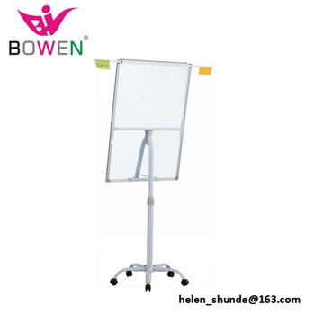 Hot Flip Chart Paper Whiteboard With Stand Wheels Bw Va