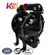 KY-25LL Chinese air drive double diaphragm aluminum alloy transfer pump