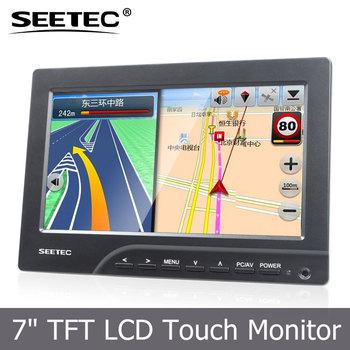 SEETEC 7quot LCD Touchscreen HDMI VGA Input 7 Inch Car Monitor
