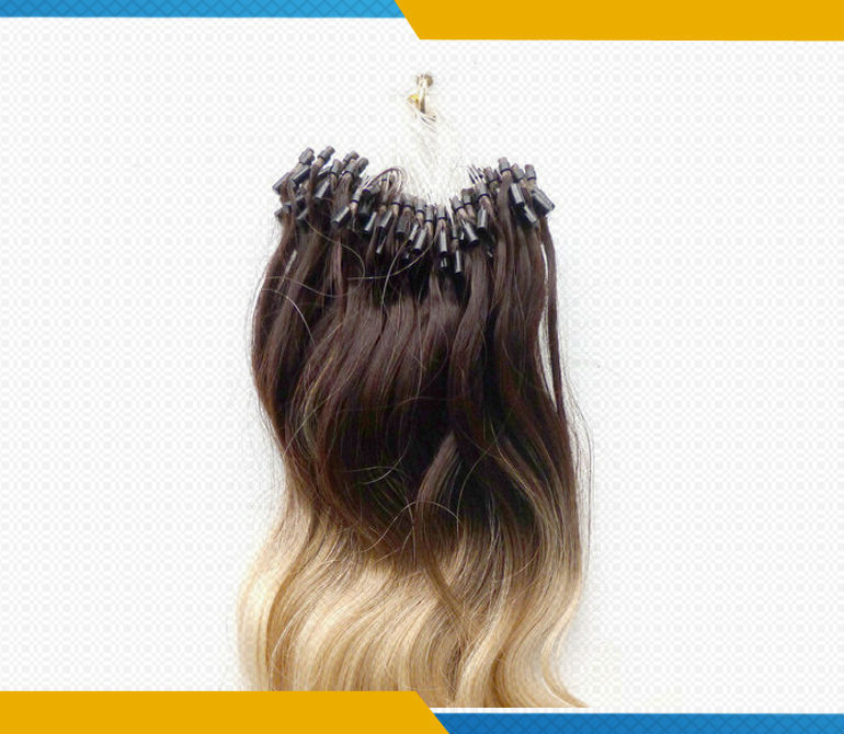 Wholesale high quality 100 cheap remy european ombre micro ring wholesale high quality 100 cheap remy european ombre micro ring loop hair extensions pmusecretfo Image collections