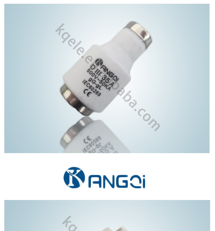 Fuse Low Voltage Screw Type D Type Fuse Links Di Dii Diii