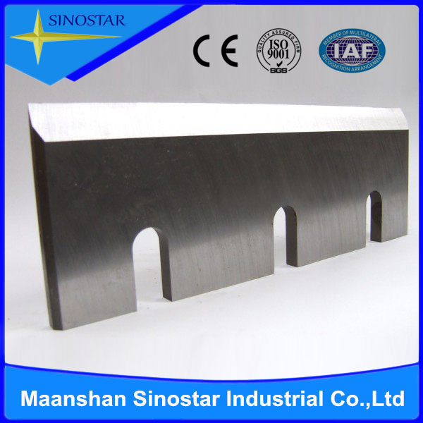 wood cutting chipper blade with tungsten carbide