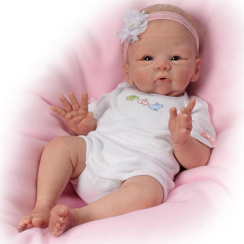 Belle vrai bébé né poupées en vinyle Poupées ID de produit
