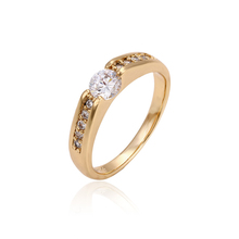 11126-Fashion white big stone gold ring designs for girls