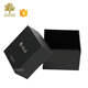 square shape necklaces packaging custom black pandora jewelry gift boxes