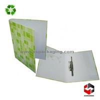 pp cover box lever arch file/file folder a4 custom made a4 size 3 inch lever arch file folder