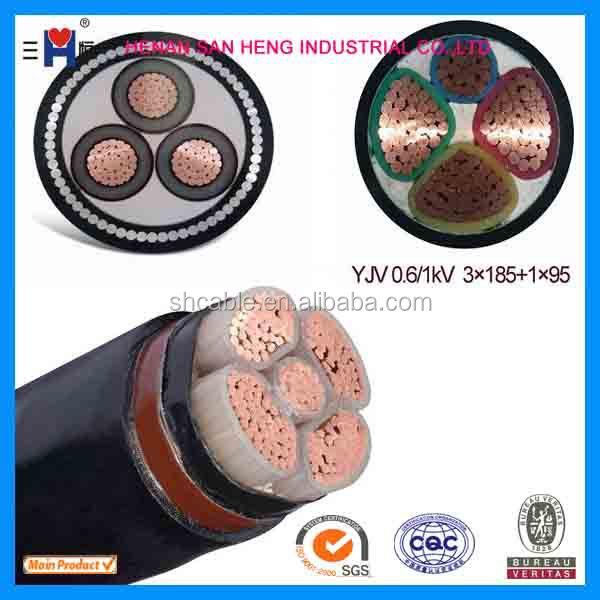 Lv Pvc/ Xlpe/ Copper/aluminum Armoured/unarmored Electric Power ...