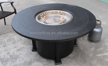 Outdoor-feuerstelle Tisch/terrasse Gasheizung/garten Feuerstelle ...