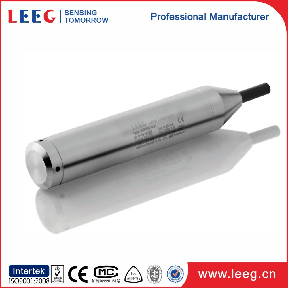 Manufacturers Submersible pressure water transmitter/level sensor