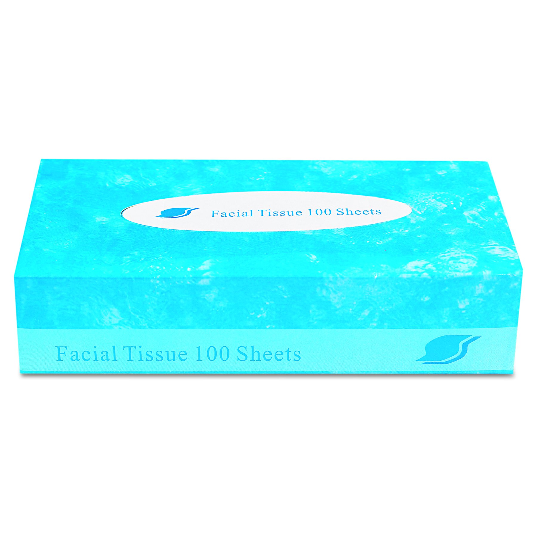 GEN GEN FACIAL-30/100 Boxed Facial Tissue, 2-Ply, White (Pack of 3000)