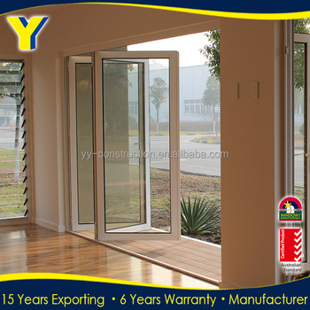 Standard Australiano Pieghevole Balcone Porte/porte In Alluminio Per ...