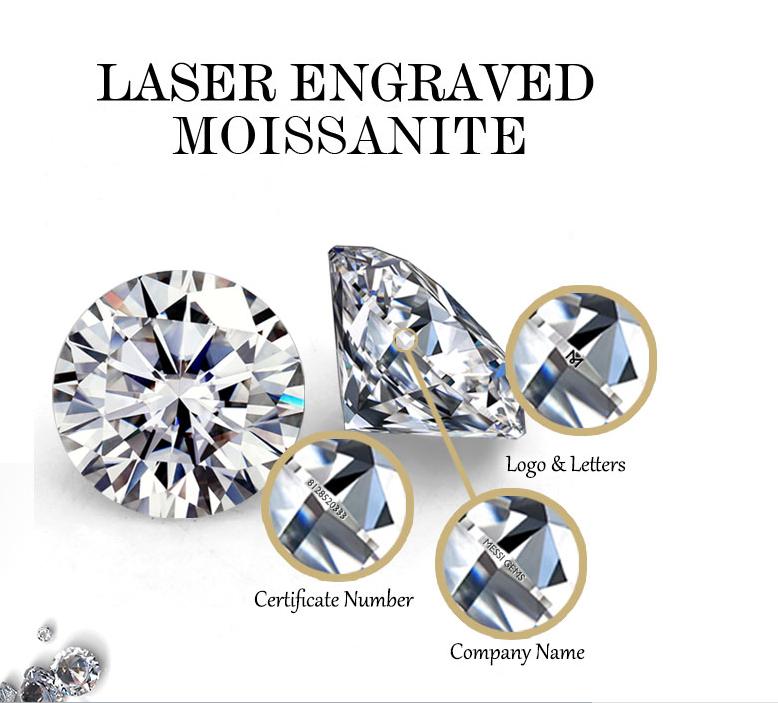 Diamant brillante color blanco 1mm 1,5mm 2mm Pequeño anillo