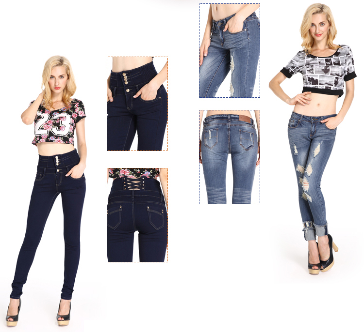 Jeans Manufacturers China Latest Jeans Tops Girls Jeans For Women ...