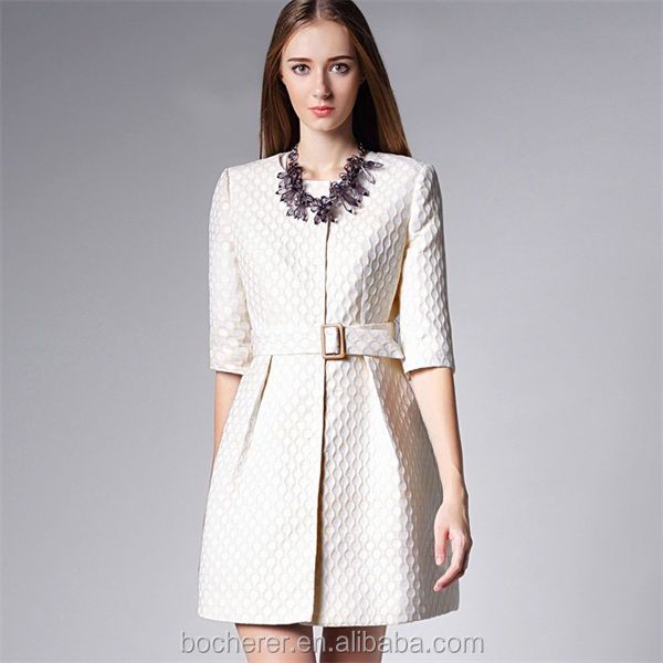 European Style Elegant Fashion Ladies White Coat Woman 2016 - Buy
