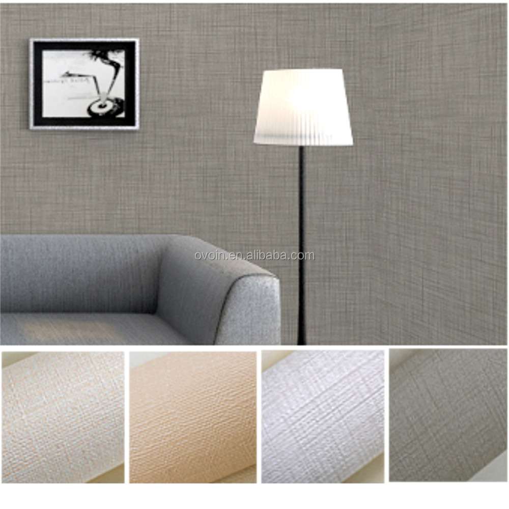 Venta al por mayor textura de muro color blanco compre for Cheap plain white wallpaper