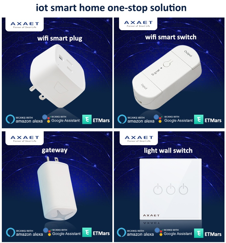 Patented Automatic Smart Home Gateway Remoto Control Switch IoT Gateway for Smart plug socket