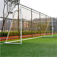 XY-G732B 8x24ft Factory Directly Sell Standard Football Equipments Steel Soccer Goals