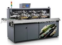 alcohol glass bottle screen printing machine