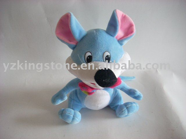 Wholesale plush and stuffed toy cautious mouse
